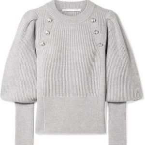 VERONICA BEARDJude button-embellished wool sweater